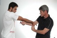 Sifu Sapir Tal demonstrating Spikey wielding methods and techniques.