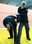 Sifu Sapir Tal instructing security forces self defense Training
