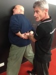 Sapir Training security police Self Defense with spikey