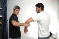 Sifu Sapir showcasing various Spikey self defense techniques