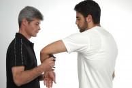 Sifu Sapir tal - self-defense training with spikey