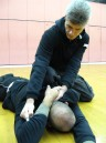 Sifu Sapir tal teaching Self-Defense For Law Enforcement