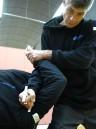 Sifu Sapir Teaches police  self-defense
