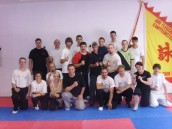 Spikey course at sifu Juri Fleischmann's Wing Chun school in Germany