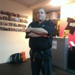 Micha Zeira - black belt Chinese Boxing - spikey Instructor
