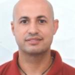 Eyal Goldstein - martial artist - spikey instructor