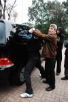 Sifu Sapir teaching law enforcement - self protection keychain